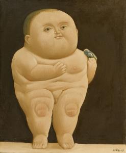 Lempertz-1079-410-Contemporary-Art-Fernando-Botero-Nino-con-un-pajaro